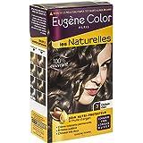 Eugène Color - Les Naturelles - N°3 Châtain Clair - Crème Colorante Permanente - Lot de 2