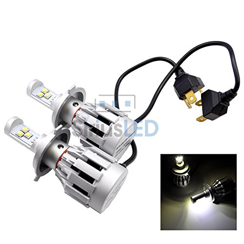 New Design High-Low Beam 6000 Lumen H4 9003 Super Bright Headlight Direct Plug