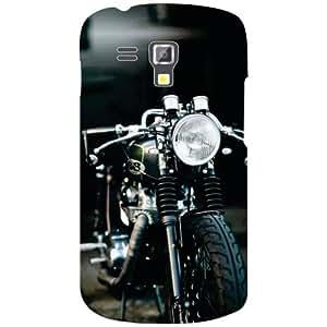 Samsung Galaxy S Duos 7582 Funky Bike Matte Finish Phone Cover - Matte Finish Phone Cover