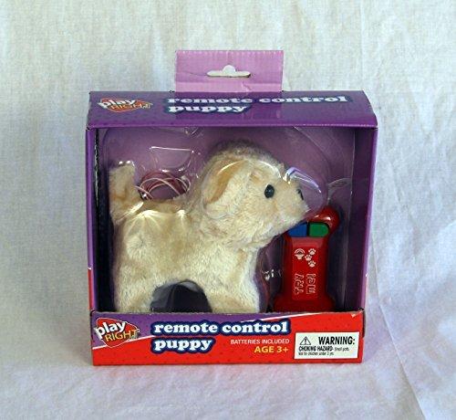 Remote Control Puppy Cream in Color - 1