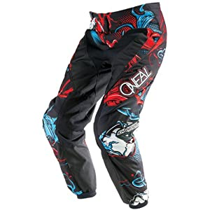 O'Neal Element Limited Edition Mutant Pants (Red/Blue, Size 8/10)