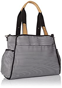 SKIP HOP Central Bolso Cambiador (Black/White)