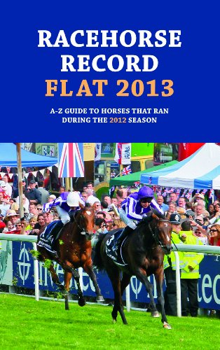 Racehorse Record Flat 2013