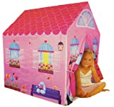 Girls Childrens Pink Princess Play Wendy House Outdoor Garden Tent Kids Toy
