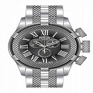 Invicta Men's 17162 Bolt Quartz Chronograph Gunmetal Dial Watch