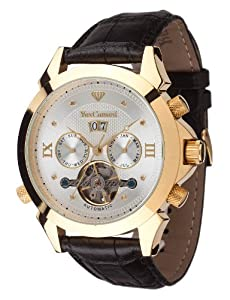Yves Camani Navigator Diamant Gold, Leather Black