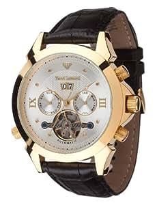 Yves Camani Navigator Diamant Gold, Leather Black