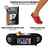Running Belt Complete Bundle PLUS Pair Of Elastic Laces PLUS Urban Runner's Survival Guide Ebook