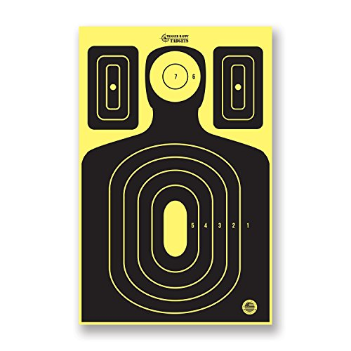 Trigger Happy Targets - SILHOUETTE SHOOTING TARGETS ... (25, Silhouette Targets 11x17) (Splatter Targets Cheap compare prices)