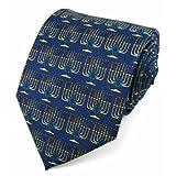 Absolute Stores Boys Menorrah Light Tie