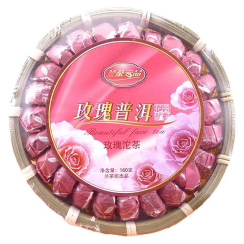 Rose Pu'Er Tea Lady Beauty Tea Hairdressing Tea 160G