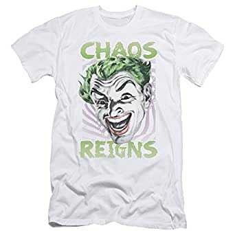 -Action TV Series Joker Chaos Reigns Adult Slim T-Shirt Tee: Clothing