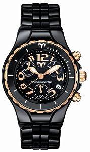Technomarine Unisex Black Dial Watch 208018