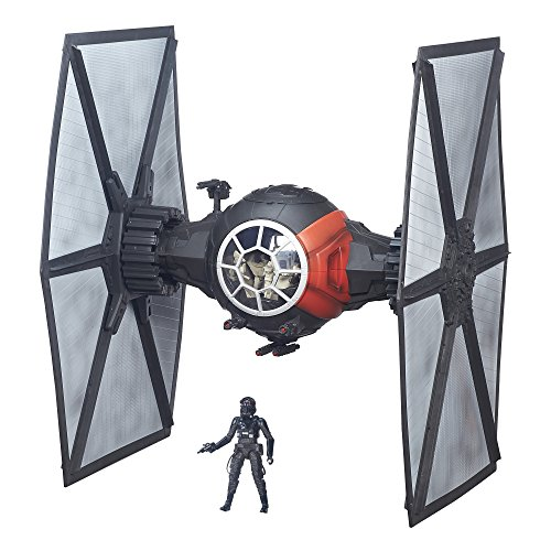 Hasbro - Star Wars: The Black Series First Order Special Forces TIE Fighter - Black B3954