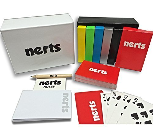 Legacy Toys Nerts Card Game Box Set,  6 Decks of Standard Playing Cards (Sequence Board Game Jumbo compare prices)