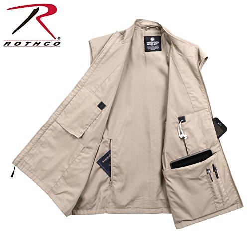 Rothco Undercover Travel Vest (Medium, Khaki)