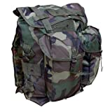 Mens Army Combat Military Rucksack Day US Travel Pack Bag Surplus ALICE 40L DPM Camo New