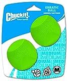 Chuckit! Medium Erratic Ball 2.5-Inch, 2-Pack