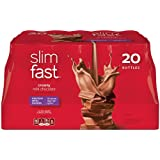 SlimFast Creamy Milk Chocolate Ready To Drink Shakes, 20 Count ~ Slim-Fast