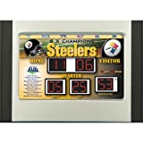 Pittsburgh Steelers Scoreboard Desk Clock Amazon.com
