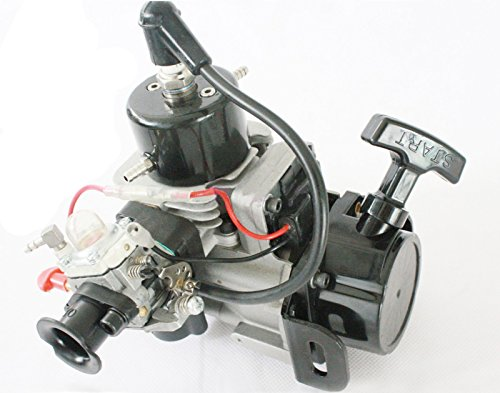 NEW 26cc 2-Stroke RC Petrol Marine Gas Pull Start Engine for Racing Boat (Rc Boats Gas compare prices)