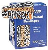 "Designer Bandages for Children 100CT, 3/4""x3"" (Safari Strips)"