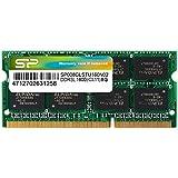 SP シリコンパワー ノートPC用メモリ 8GB 1.35V (低電圧) - 1.5V 両対応 省電力 DDR3-1600 PC3-12800 SO-DIMM (無期限保証) SP008GLSTU160N02