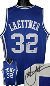 Christian Laettner Signed Jersey - Custom - Autographed College Jerseys by Sports+Memorabilia