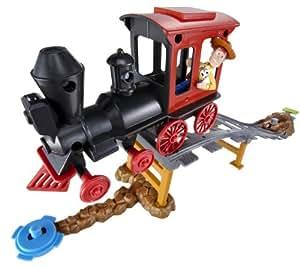 Toy Story 3 Train Vehicle Stunt - Woody