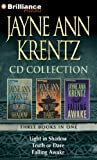 img - for Jayne Ann Krentz CD Collection 2: Light in Shadow, Truth or Dare, Falling Awake (Jayne Ann Krentz CD Collections) book / textbook / text book