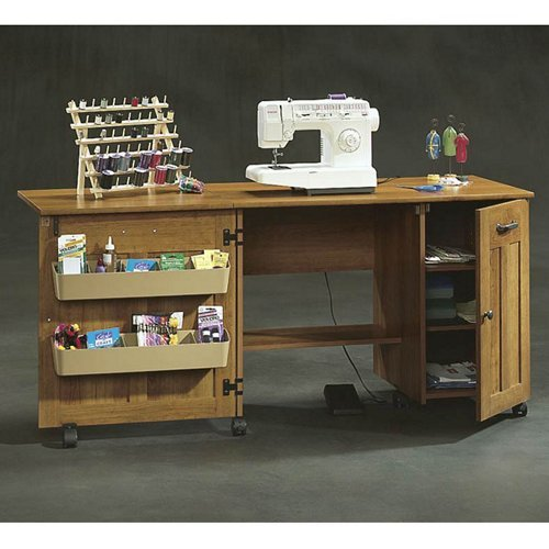 Sewing craft cart b000f9wesw amazon price tracker for Sauder sewing craft table