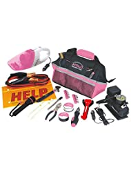 54 Piece Roadside Tool Kit- Pink-DT-0515P by Apollo