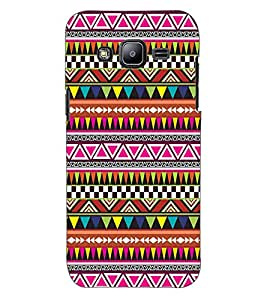 ColourCraft Tribal pattern Design Back Case Cover for SAMSUNG GALAXY J2 DUOS