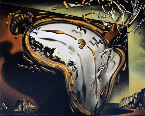 The Melting Watch by Salvador Dali. Art Print Poster (19.75 x 15.75)