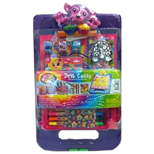 Lisa Frank Desk Caddy Monkey Clipboard & Storage Desk