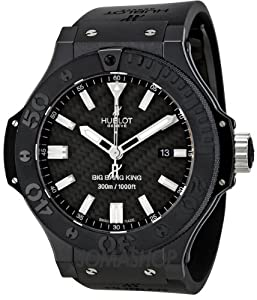 Hublot Big Bang King Carbon Fiber Mens Watch 322CM1770RX by Hublot