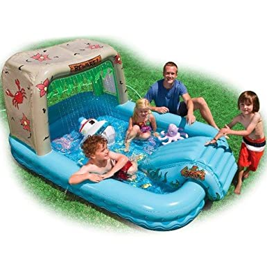 Ship Wreck Play Center - Inflatable Pool