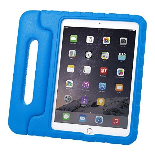 サンワサプライ iPad Air2衝撃吸収ケース 青 PDA-IPAD65BL