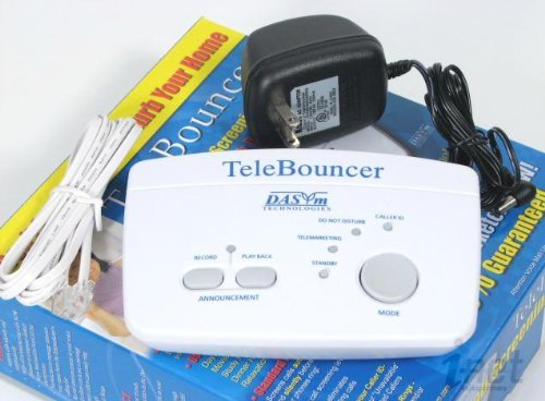 TeleBouncer Blocker TB1000 Block Telemarketing Calls