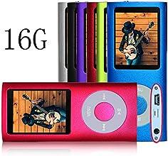 G.G.Martinsen Pink 16 G Mini Usb Port Slim Small Multi-lingual Selection 1.78 LCD Portable MP3/MP4, MP3Player , MP4 Player , Video Player , Music Player , Media Player , Audio Player