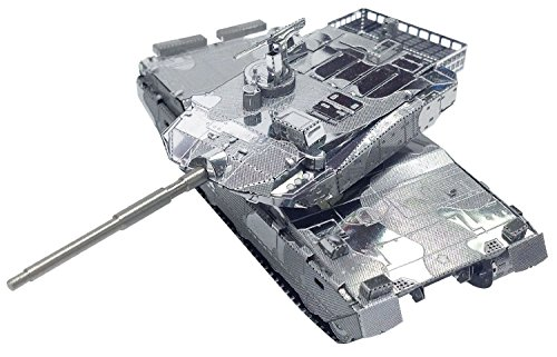 Tenyo Metallic Nano Puzzle T-MN-058 JGSDF Type Battle Tank from Japan