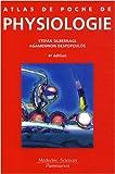 echange, troc Stefan Silbernagl, Agamemnon Despopoulos - Atlas de poche de physiologie