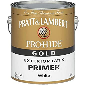 Pratt Lambert Pro Hide Gold Latex Exterior Primer House Paint Industrial