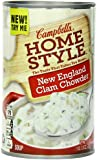 Campbell's Homestyle New England Clam Chowder, 18.8 Ounce Cans (Pack of 12)