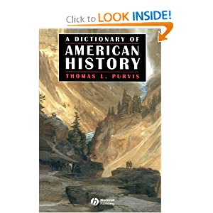 Amazon.com: A Dictionary of American History (Blackwell History ...