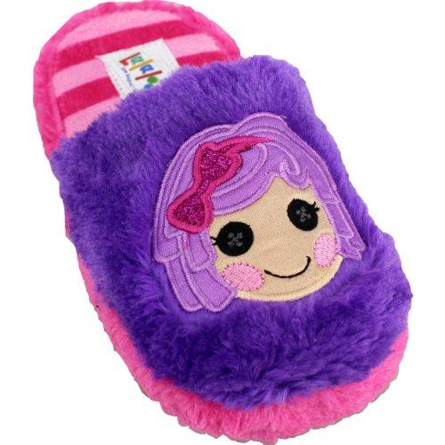 Lalaloopsy Girls Scuff Slippers Llscuff (13/1, Purple/Pink) front-535800