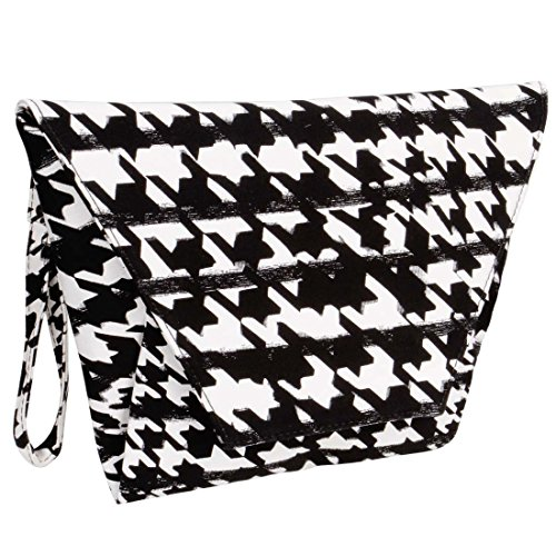 BMC-Womens-Faux-Leather-Abstract-Fashion-Envelope-Flap-Design-Clutch-Handbag
