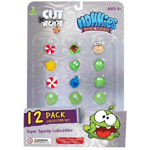 Cut The Rope Nommies Collection, Pack of 12