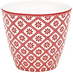 Greengate Bianca Latte Cup red One Size