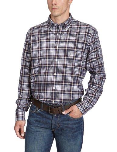 Gant Men's 309370 Casual Shirt Brown (Espresso) 50